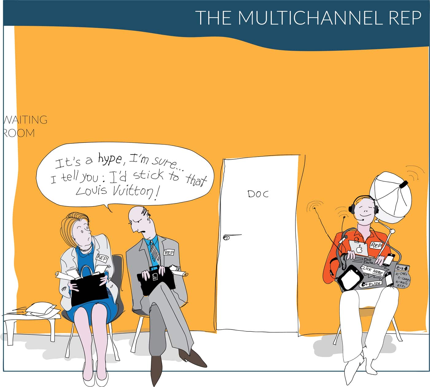1000 to 1 cartoon - Multichannel rep